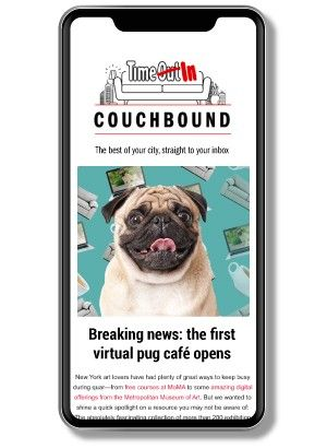 A picture of the Couchbound email